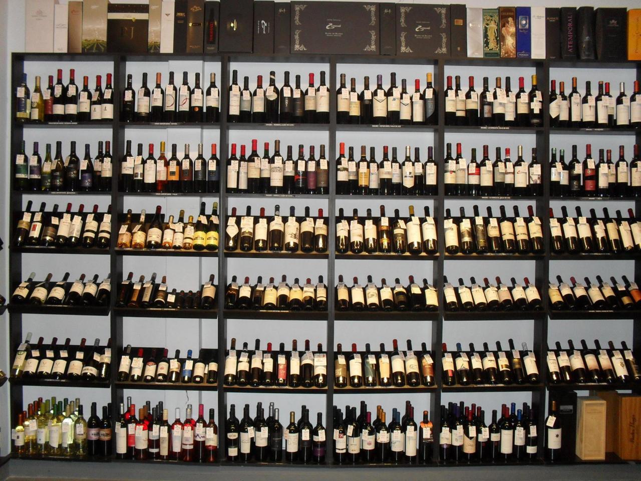Ozono Drinks - El Vino en Vinotecas 1