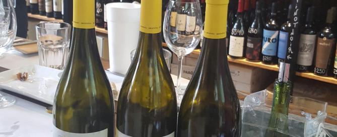 Vertical de Blanchard y Lurton Grand Vin 2014/2015/2016