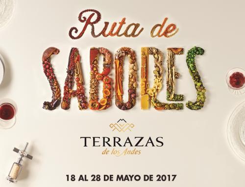 Terrazas de los Andes presenta la 5° edición de Ruta de Sabores