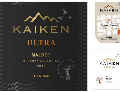 Bodega Kaiken presenta las nuevas añadas con un restyling de sus líneas Reserva, Terrorir Series y Ultra.