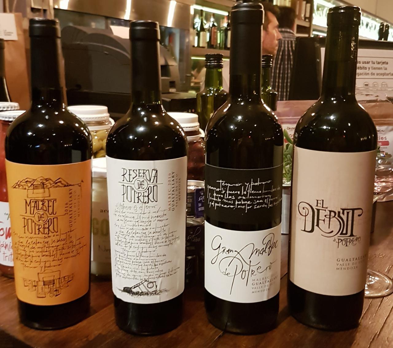 Los Vinos de Potrero de Nicolás Burdisso