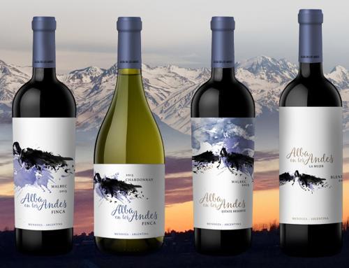Llegan los vinos de la bodega Alba en los Andes.