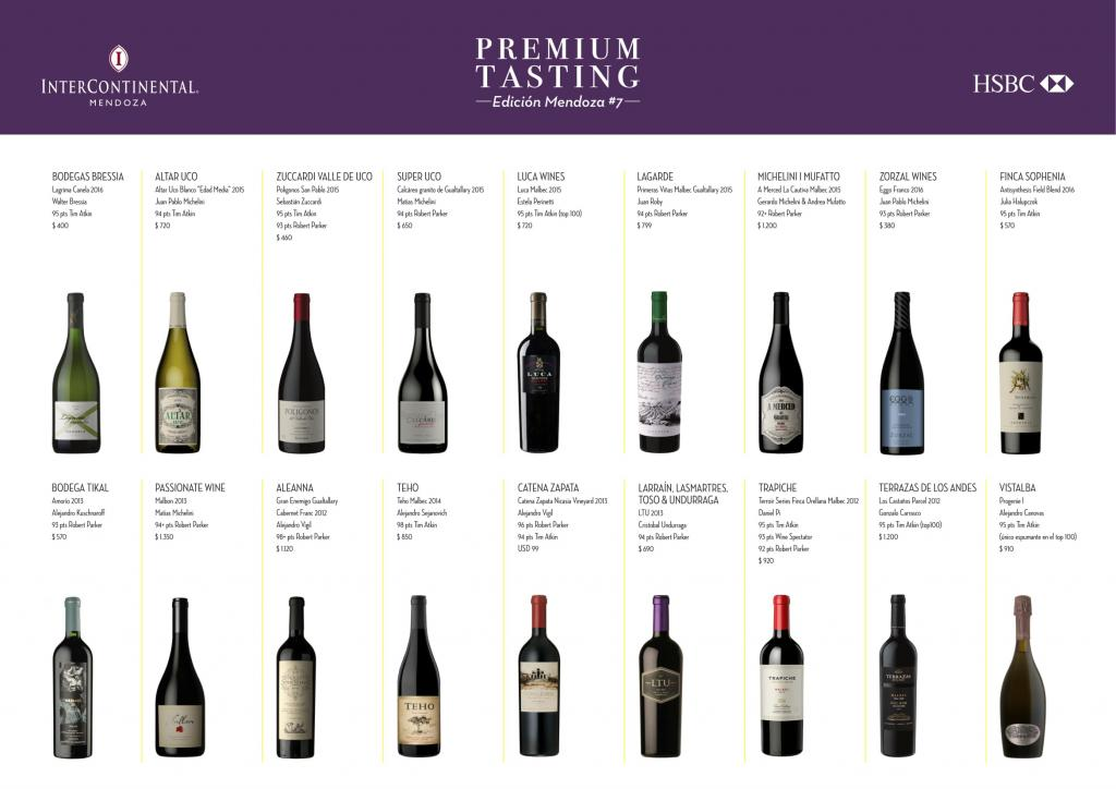 Los Vinos del Premium Tasting 2017