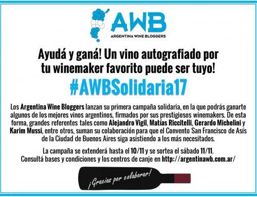 Ayudá y ganá! #AWBSolidaria17