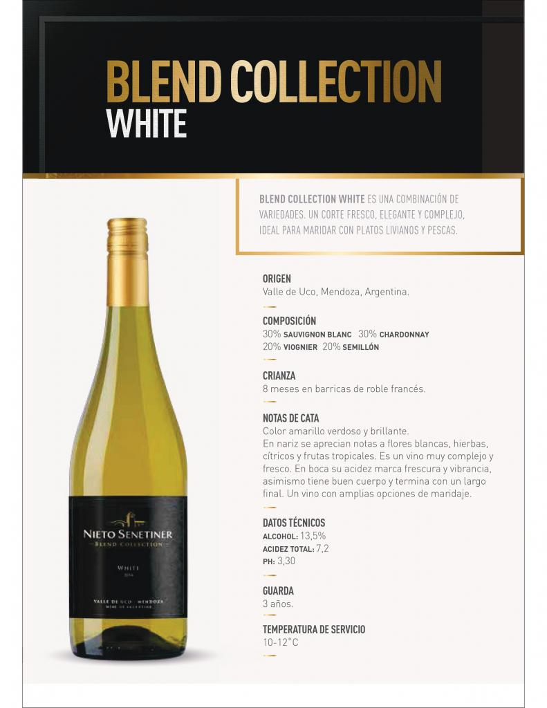 Nieto Senetiner Blend Collection White