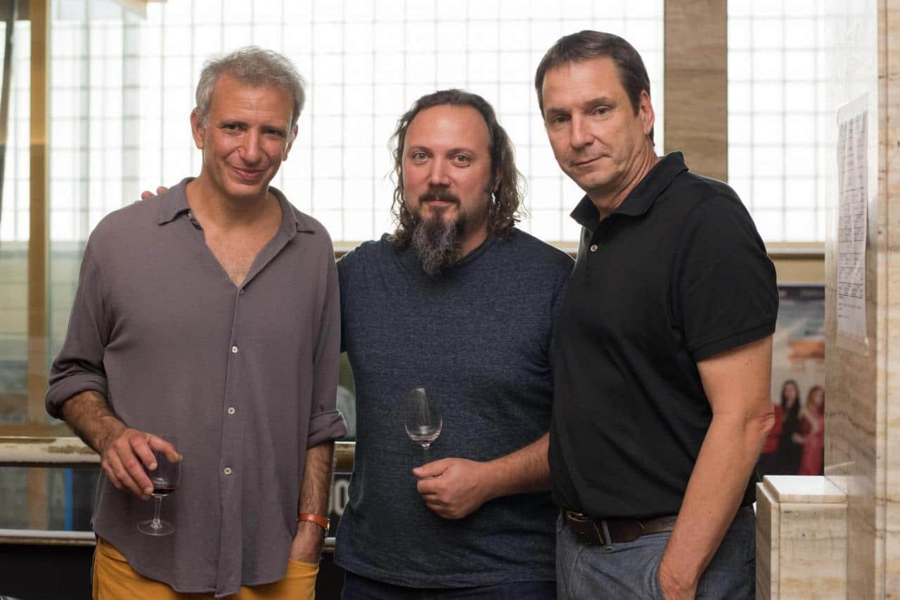 J. Nossiter- Gabriel Bloise enólogo Chakana - Juan Pelizzatti