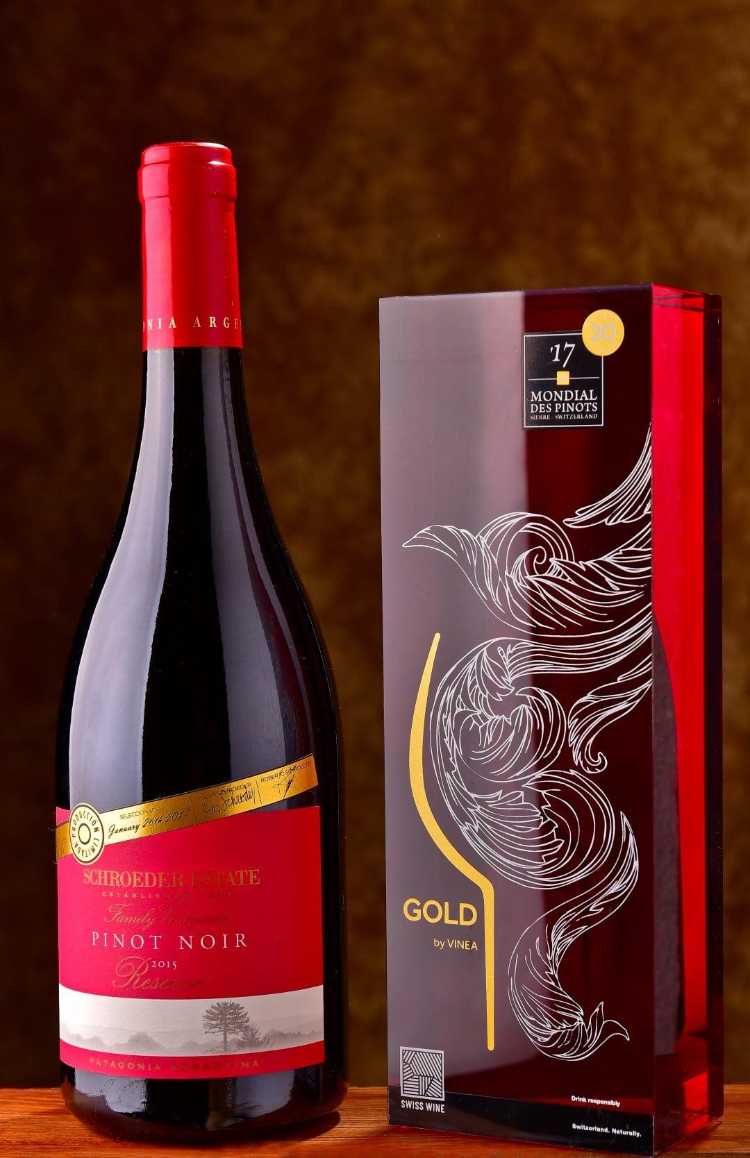 Bodega Familia Schroeder ganador del Oro en el Mundial de Pinots