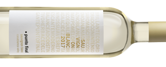 Punto Final Sauvignon Blanc 2017