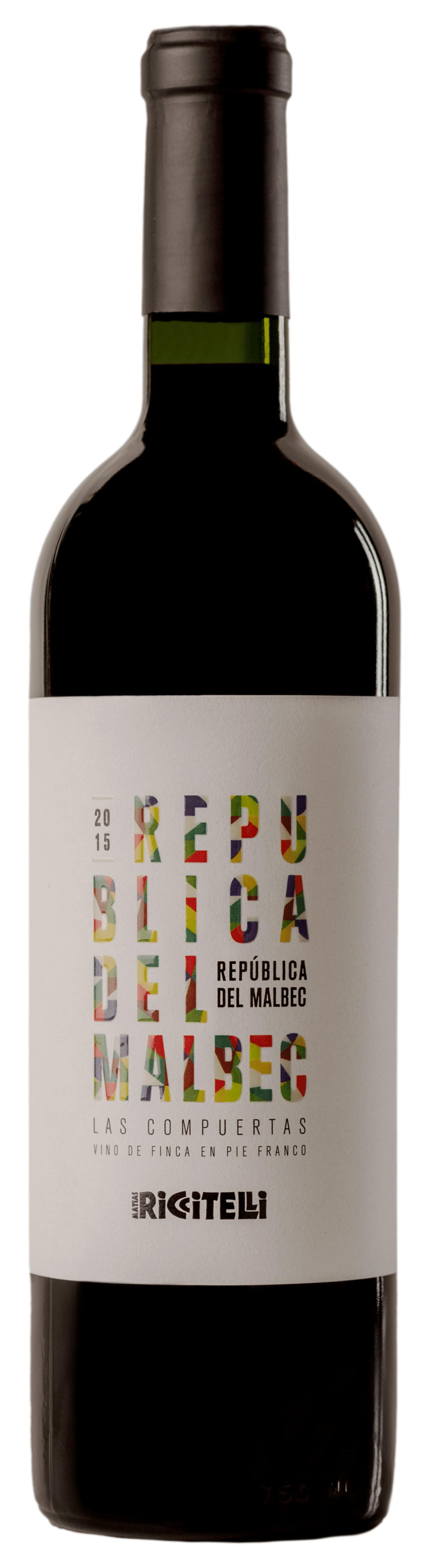 República del Malbec Las Compuertas 2015