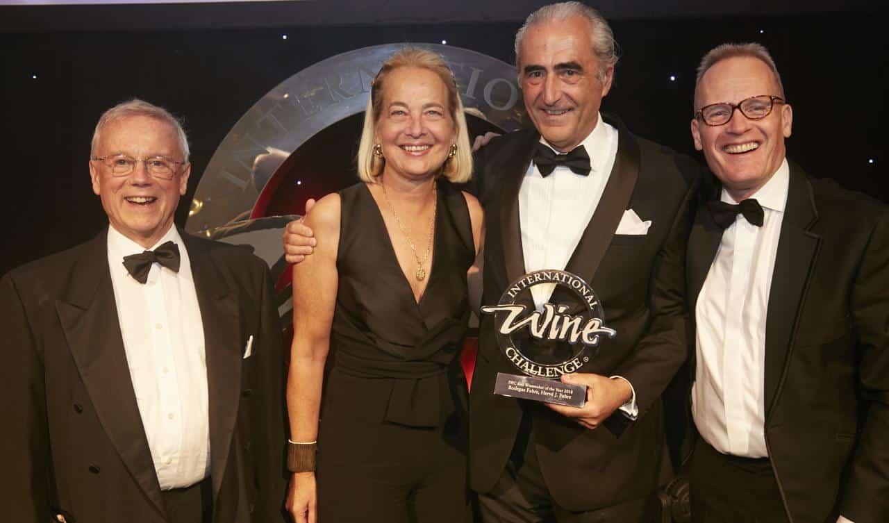 Hervé J. Fabre fue distinguido en Londres como Best Red Winemaker of the Year 2018