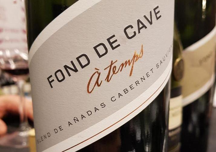 Fond de Cave Á Temps Cabernet Sauvignon