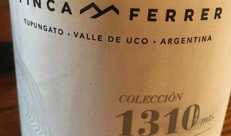 Finca Ferrer 1310 Chardonnay 2016