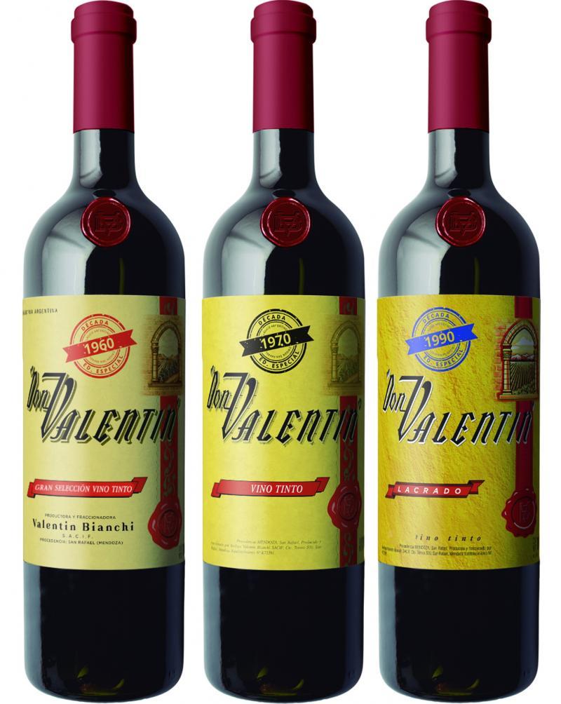 """Bodegas Bianchi lanza una edición especial """"Vintage"""" de Don Valentín Lacrado"""