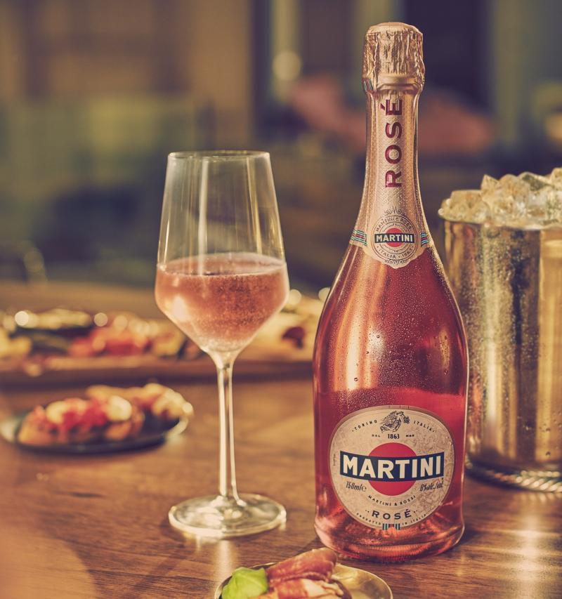 Burbujas Rosadas - Martini anuncia el lanzamiento de Martini Rosé