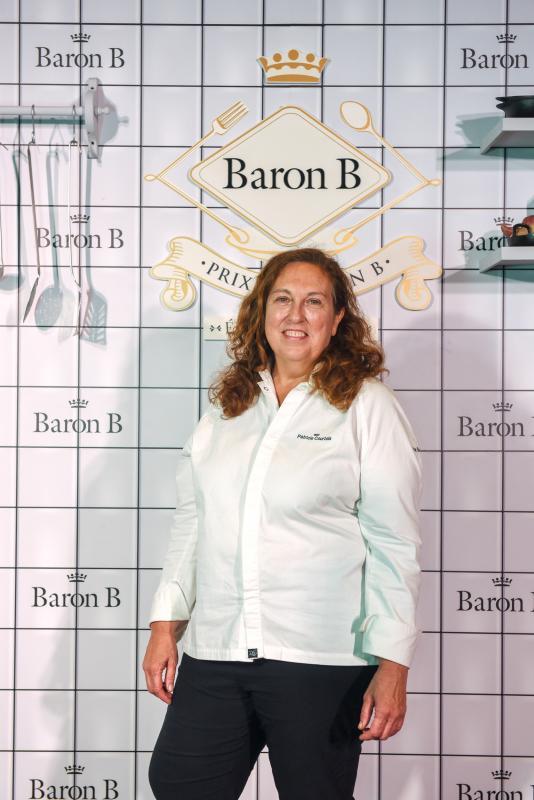 Patricia Courtois en lanzamiento de la 2da Edición del Prix de Baron B - Édition Cuisine