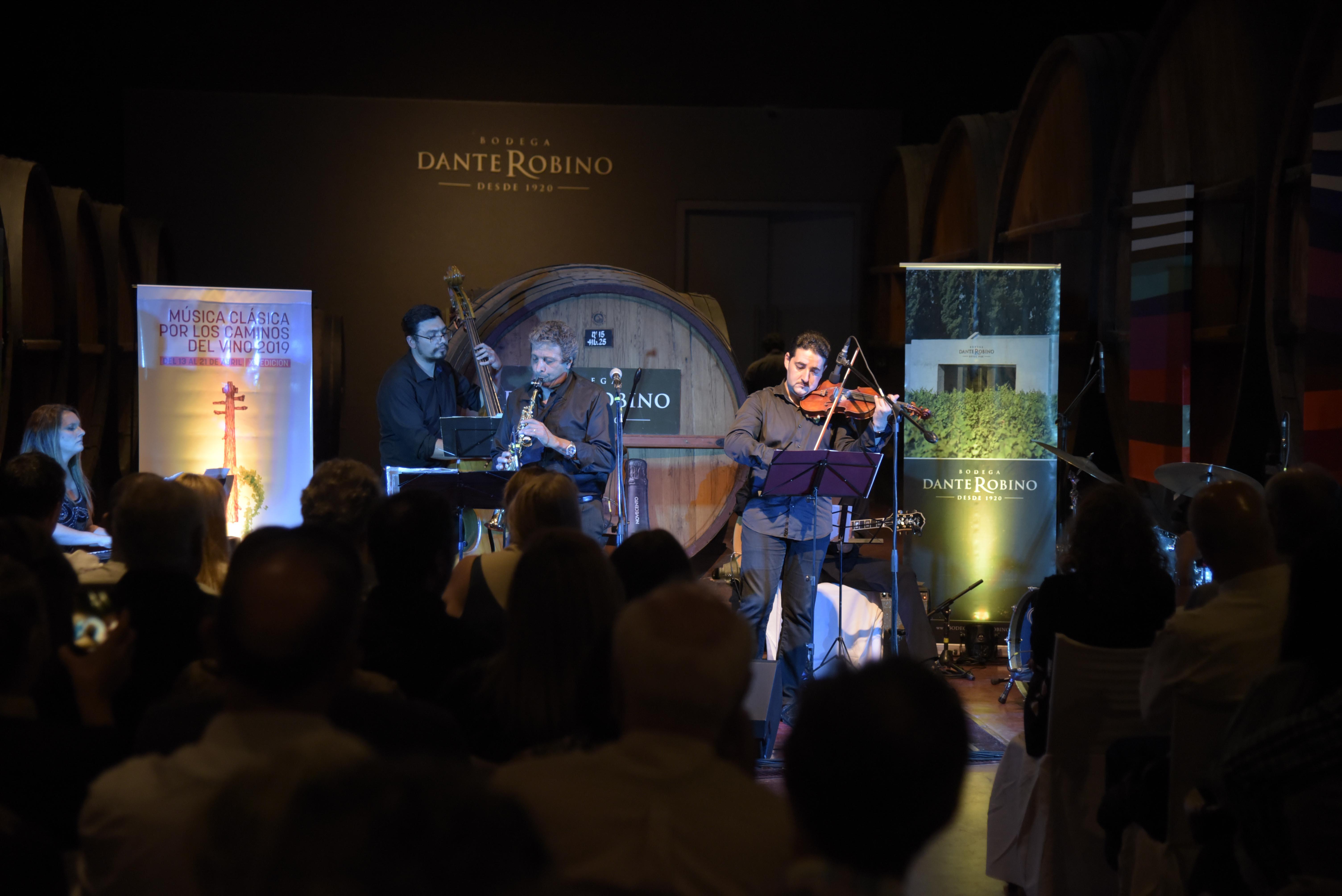 Bodega Dante Robino inauguró el Ciclo de Música Clásica por los Caminos del Vino