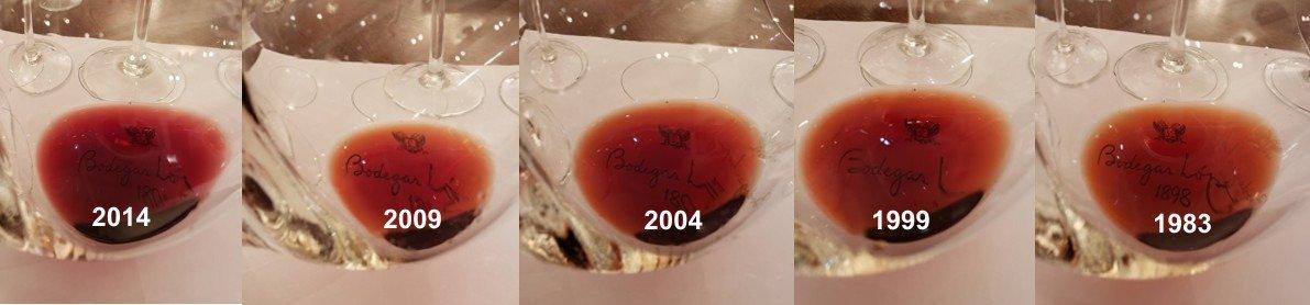 Cata Vertical de Montchenot 2014, 2009, 2004, 1999 y 1983 !!! 1
