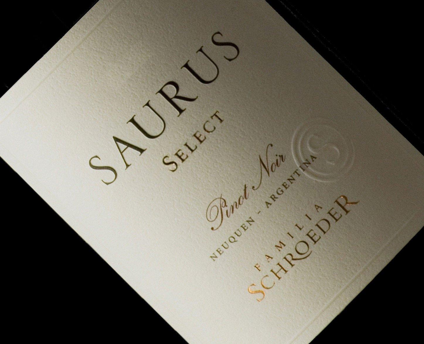Saurus Select Pinot Noir 2017, de Familia Schroeder