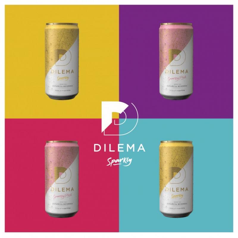 Vino en Lata. Bodega Estancia Mendoza lanzará Dilema Sparkly, su primer vino en lata