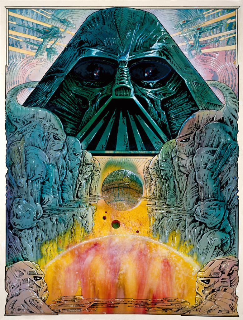 Philippe Druillet, Star Wars poster 1977