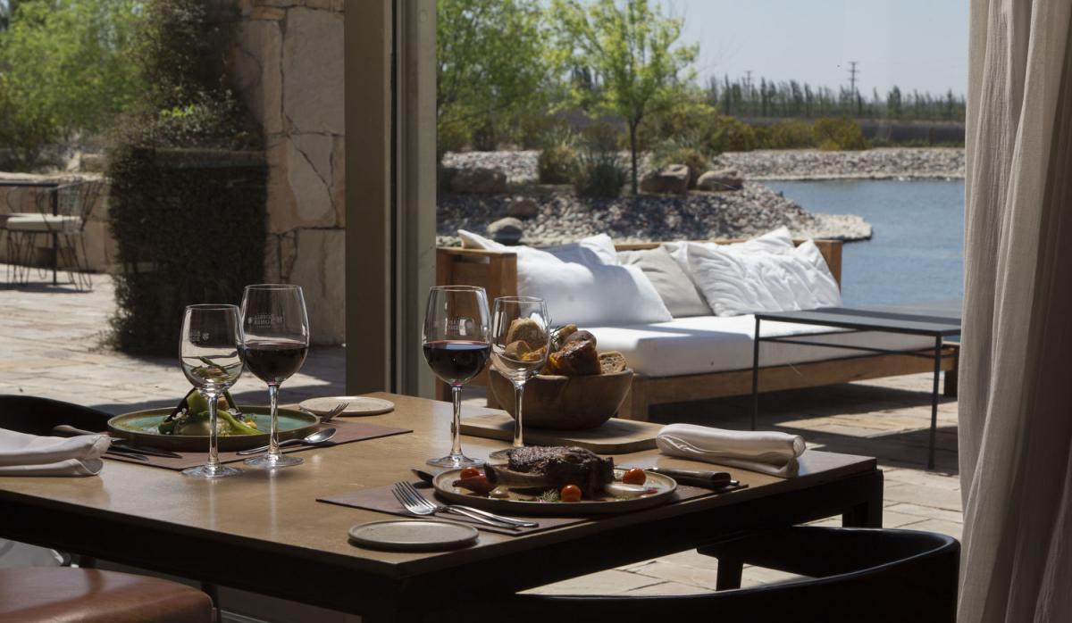 Rosell Boher Lodge fue elegido como el mejor restaurante de bodega del Mundo