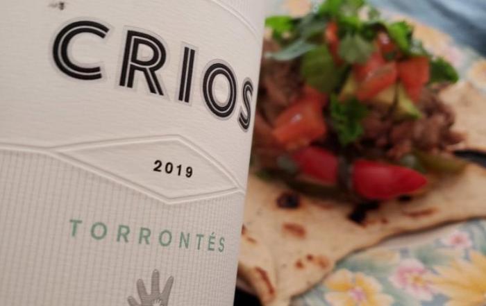 Críos Torrontés 2019, ideal para hacerle frente a comidas picantes
