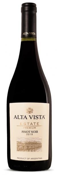 Alta Vista Estate Premium Pinot Noir 2018