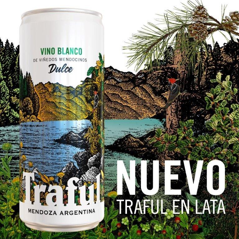 Bodegas López lanza Traful en lata Vino Blanco Dulce