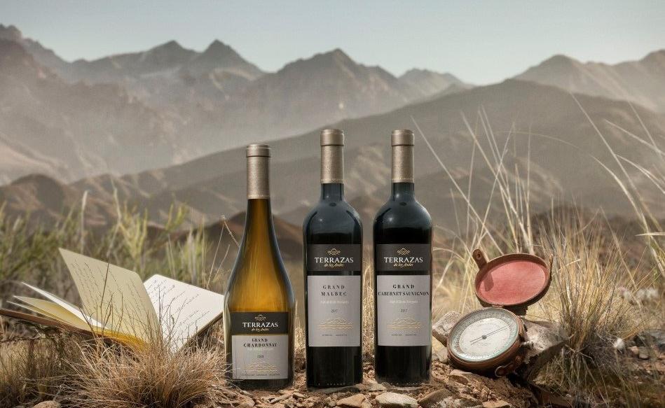 Terrazas de los Andes Grand - La evolución del Malbec, Cabernet Sauvignon y Chardonnay.