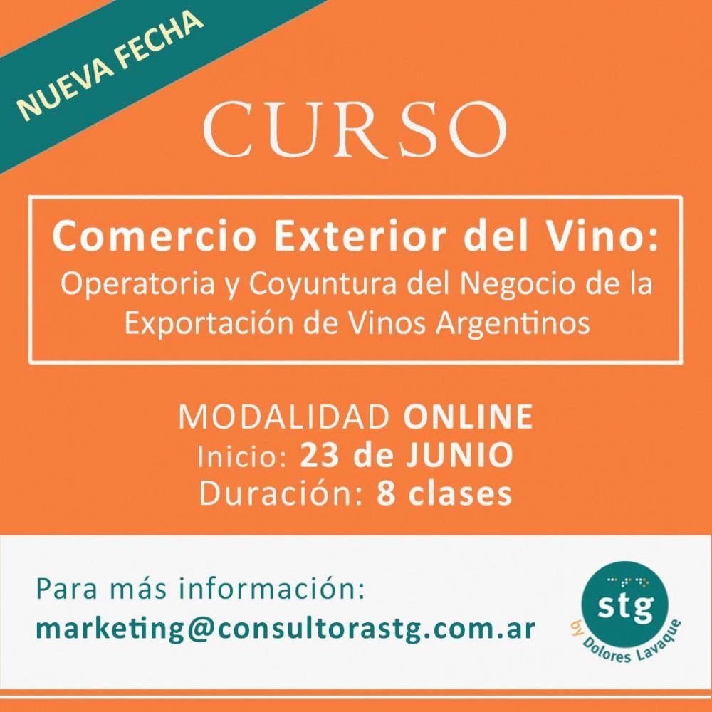 Cursos Desafíos del Vino 2020 - Comercio Exterior del Vino