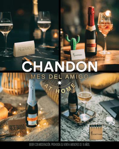 Propuestas de Chandon para Celebrar el Día del Amigo en Casa