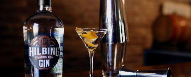 3 cócteles con el nuevo Hilbing London Dry Gin, muy fáciles de elaborar en casa