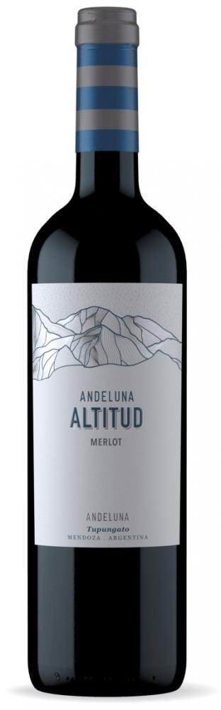 Andeluna Altitud Merlot 2017 - La Altitud de la Montaña hecha vino