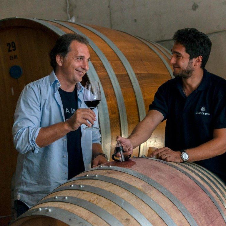 Diego Mastrantonio y Sebastián Bisole