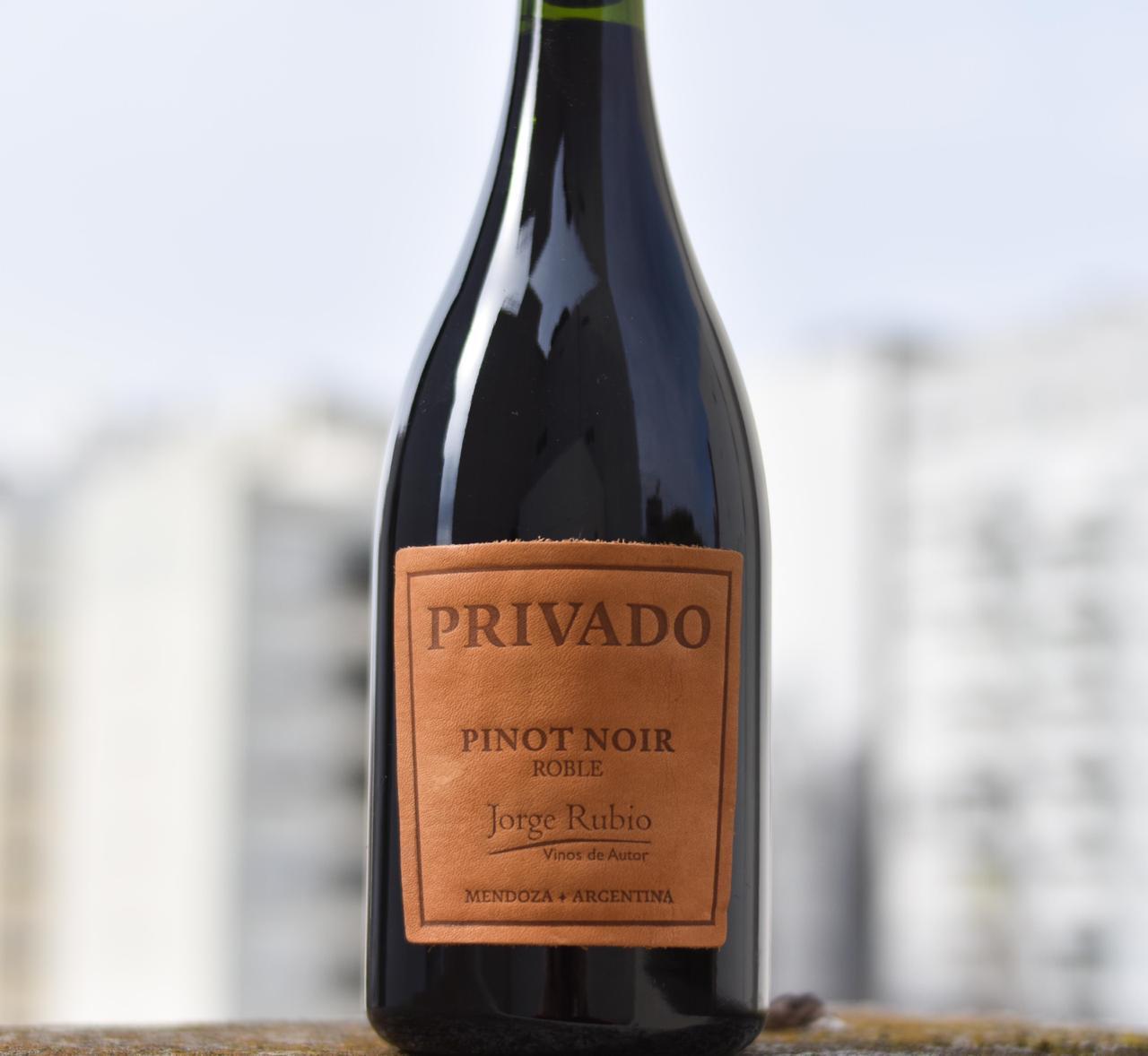 Privado Jorge Rubio Pinot Noir 2020