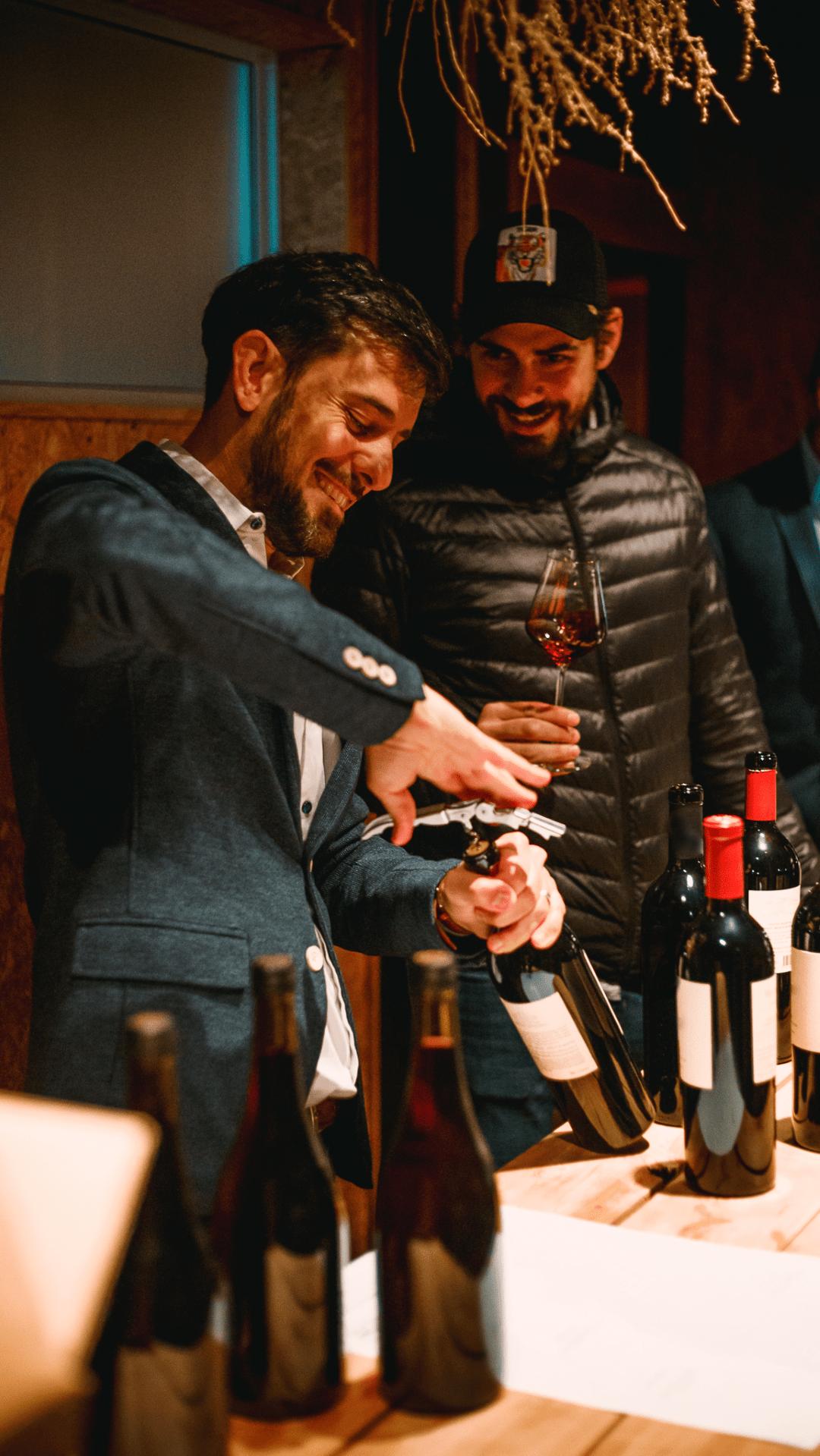 Nace Desde los Polos. El Pinot Noir de Mariano Braga y Andrés Vignoni