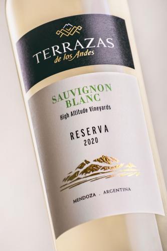 Terrazas de los Andes presenta la cosecha 2020 de su Terrazas Reserva Sauvignon Blanc