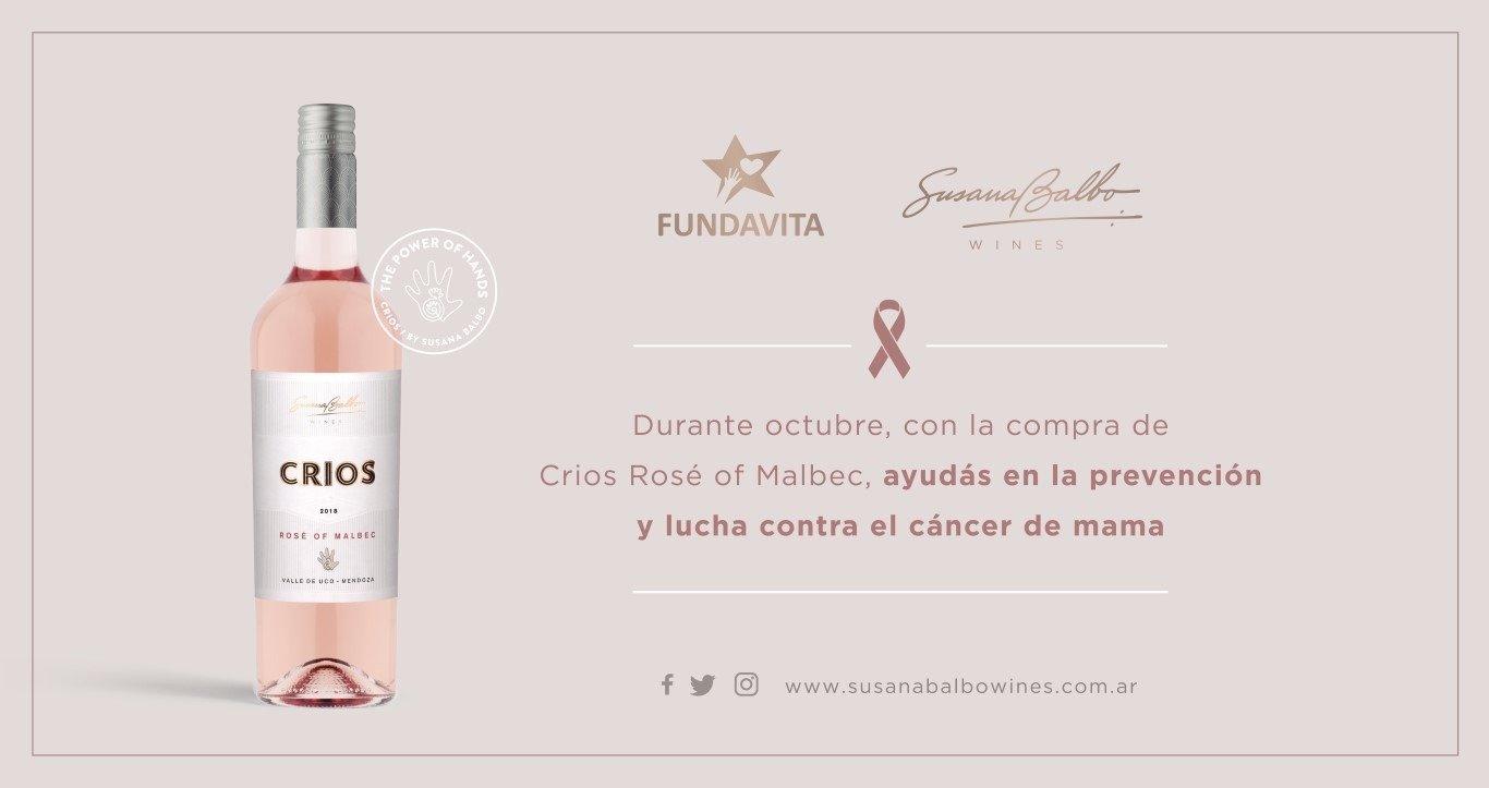 Críos Rose de Malbec 2019 - Octubre Rosa