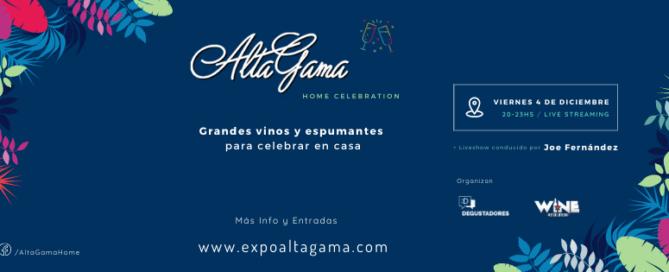 Alta Gama Home Celebration, para celebrar con grandes vinos y espumantes en casa
