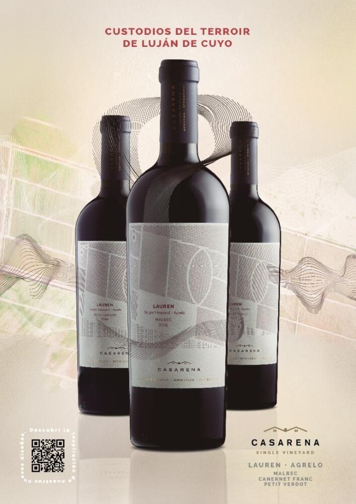 Casarena Bodega y Viñedos presenta al mercado la nueva imagen de su línea insignia Casarena Single Vineyard