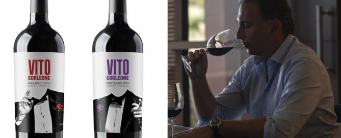 Llegó Vito Corleone, la línea joven de Mastrantonio Wines