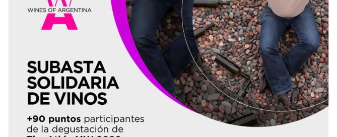 Subasta solidaria Wines of Argentina