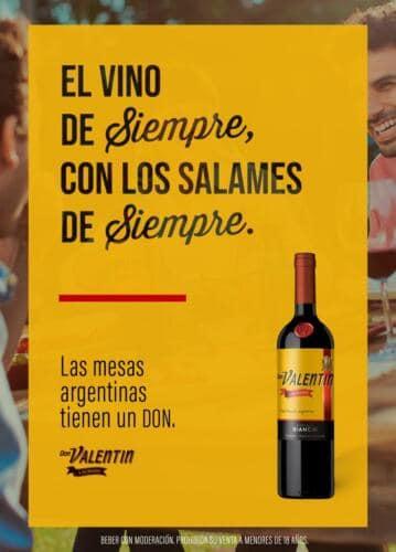 Toda mesa argentina tiene un Don - La nueva campaña de Don Valentín Lacrado (1)