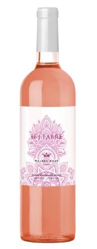 H.J. Fabre Malbec Rosé 2020. Rosado de Malbec con gusto a Malbec
