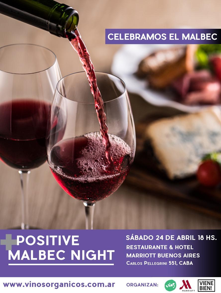 Positive Malbec Night una noche con los Malbec más sustentables del país (1)