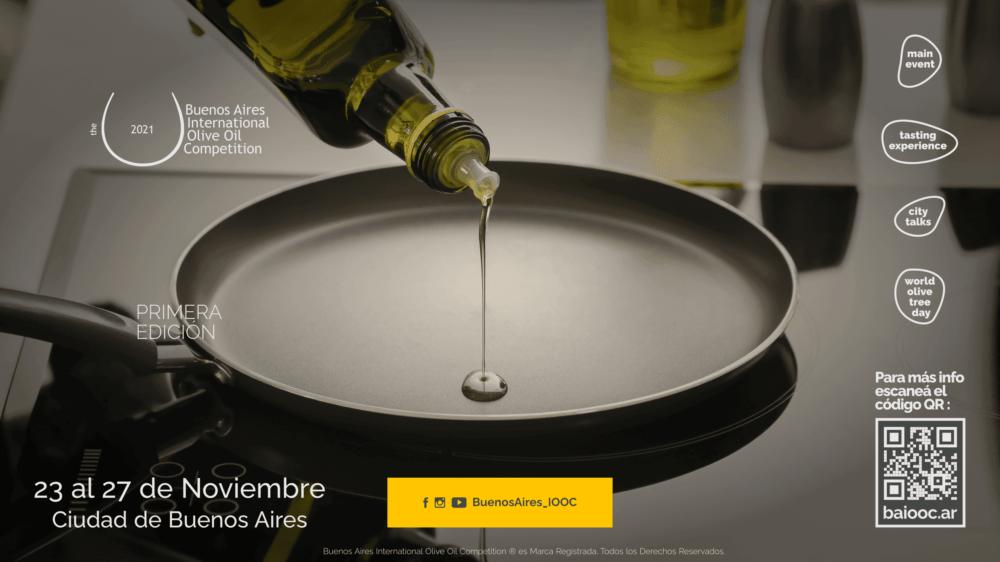 Llega la Buenos Aires International Olive Oil Competition 2021