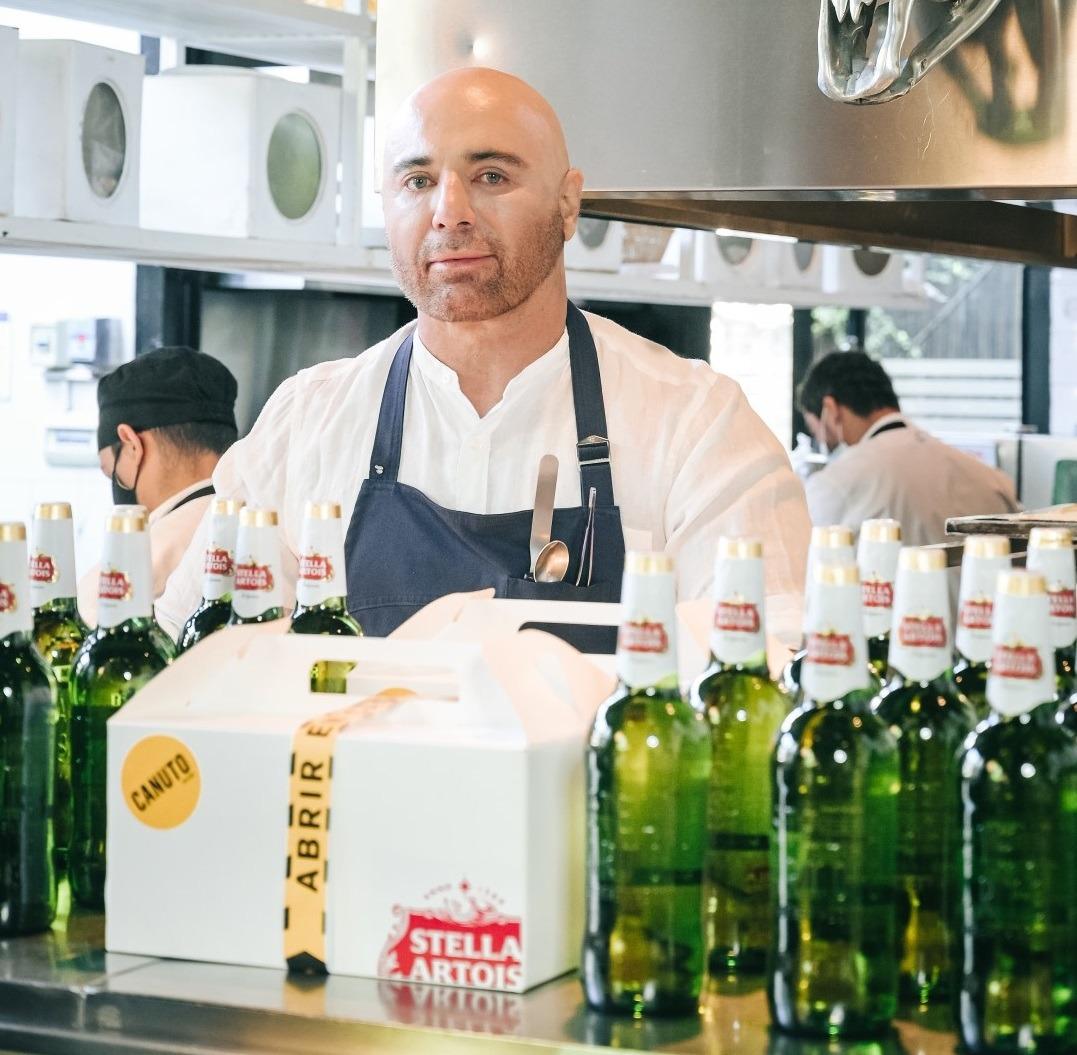 Stella Artois se une a Germán Martitegui para el lanzamiento se su botella 710 ml (2)