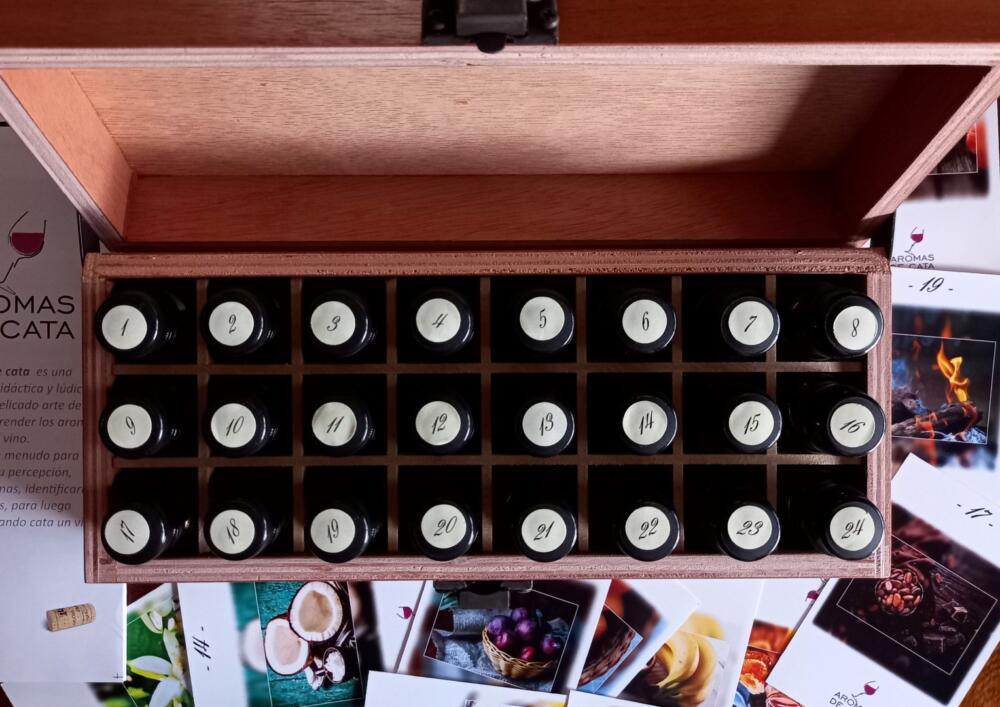 Aromas de Cata, un Kit de Aromas ideal para regalar el Día del Padre (2)