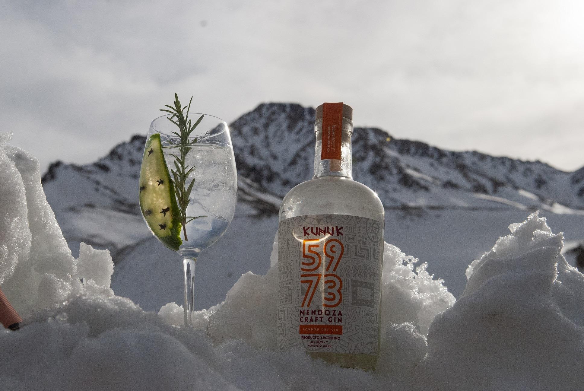 Nuevo premio internacional para el Gin Mendocino Kunuk 5973