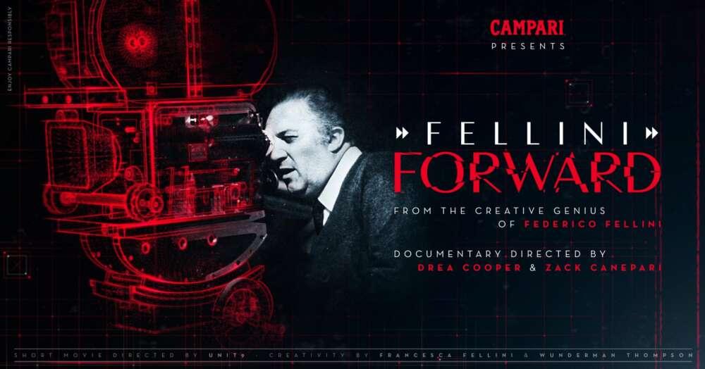 Campari crea el 1º Cortometraje con inteligencia artificial basado en Fellini (3)